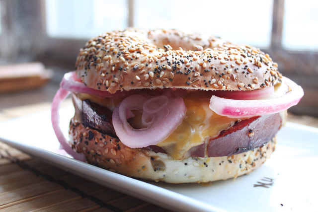 Sesame Fried Bologna Sandwich Recipe