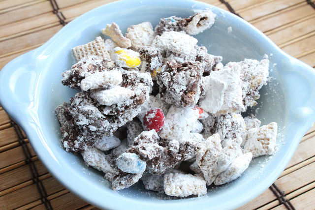 Loaded Puppy Chow Dessert Recipe