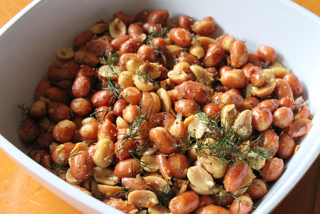 Dill Pickle Peanuts Recipe