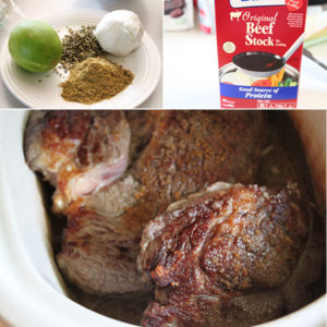 Mexican Barbacoa Ingredients