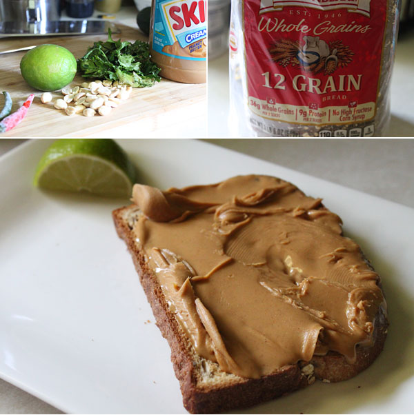 Thai Peanut Butter Toast Ingredients