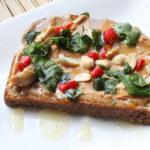 Thai Peanut Butter Toast Recipe