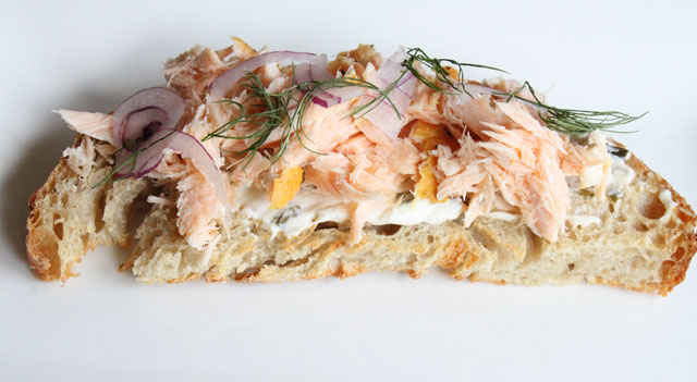 Salmon Crostini Recipe