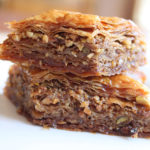 Homemade Baklava using D'Vash