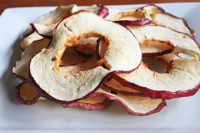 Dehydrated Apple Chips Recipe