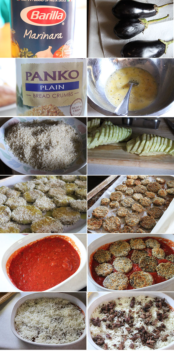 Eggplant Parmesan Ingredients