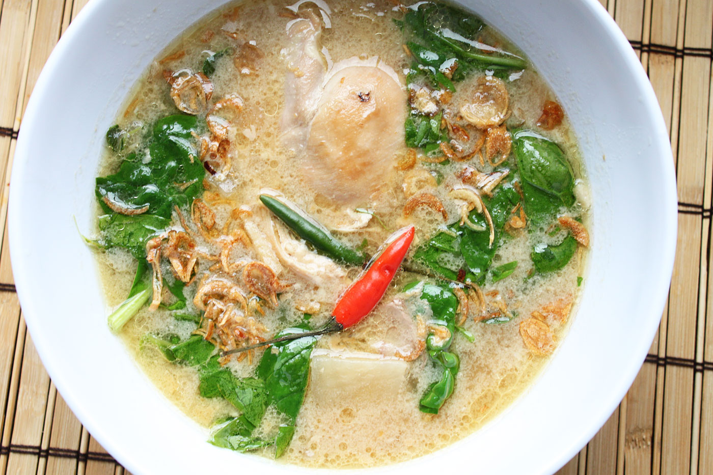 Filipino simple comfort food recipes that are simple and delicious filipino tinola halang halang forumfinder Image collections