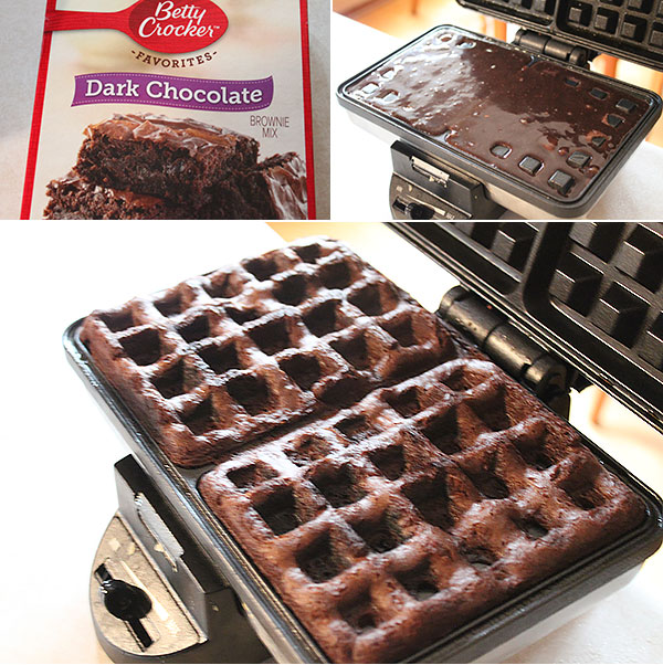 Chocolate Cake Waffles Ingredients