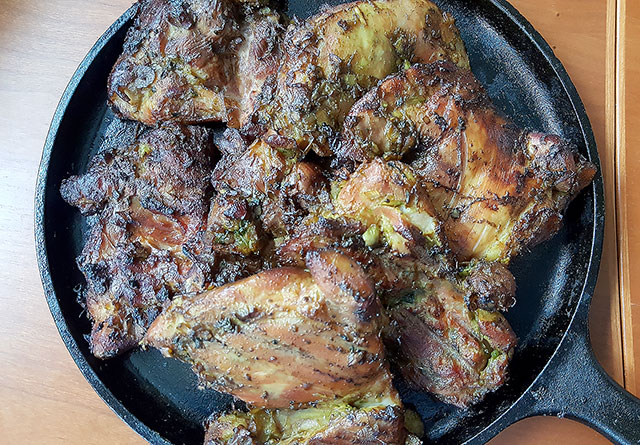 Isan Grilled Chicken Recipe