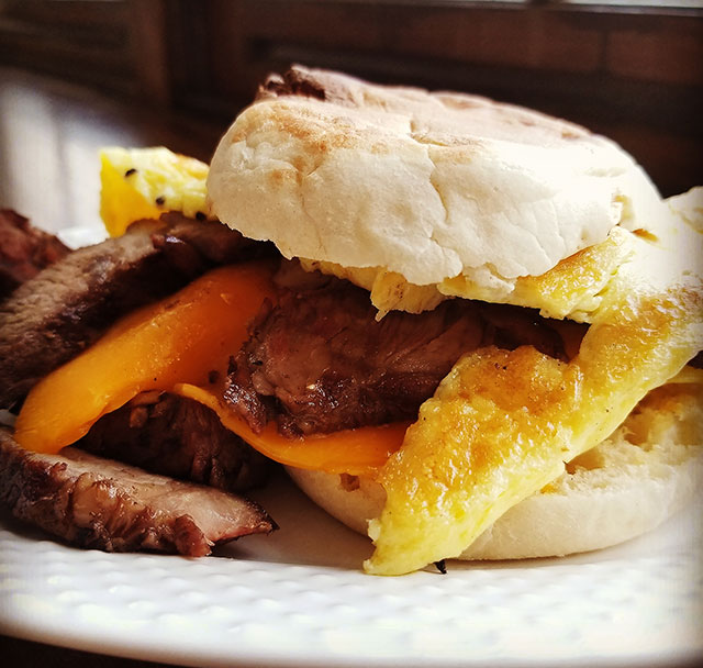 Thai Steak McMuffin Recipe