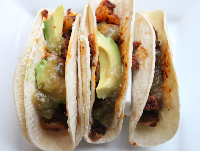 Chorizo and Potato Tacos Recipe