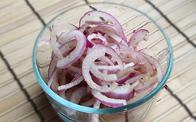 Indian Style Red Onions