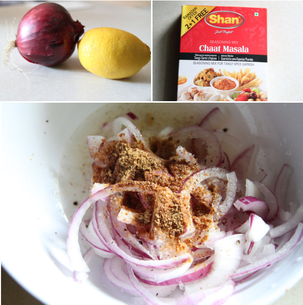 Indian Style Red Onions Ingredients