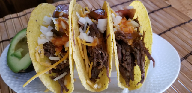 Pulled Beef Tacos Recipe