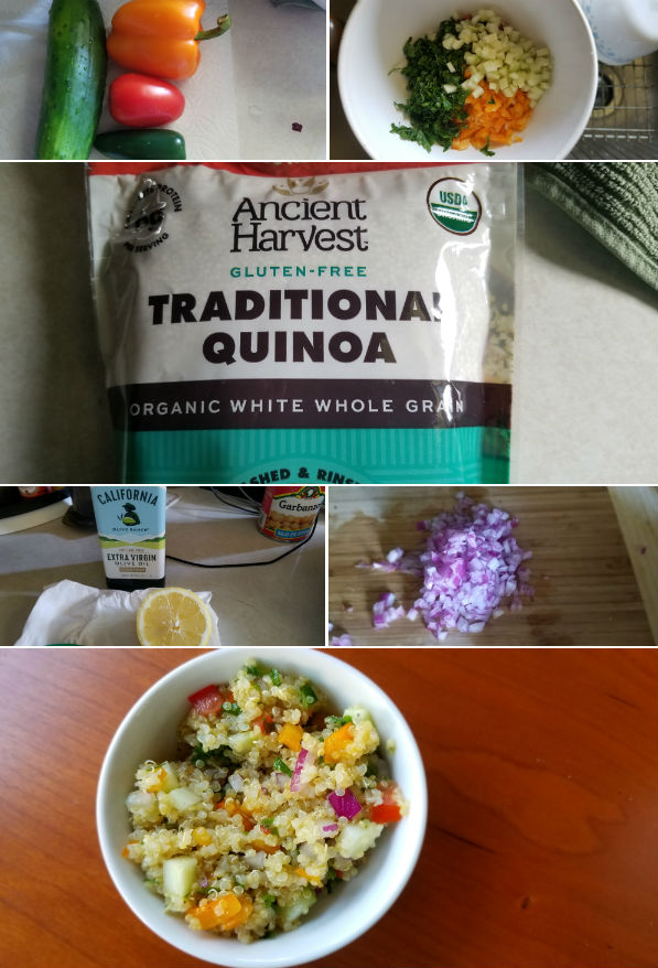 Quinoa Salad Ingredients