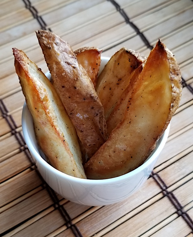 Homemade Wedge Fries