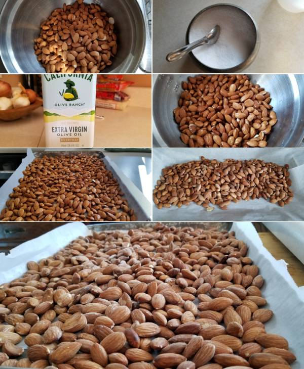 How to make Roasted Salted Almonds