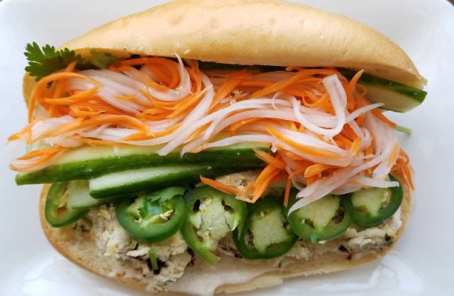 Vietnamese Lemongrass Chicken Meatloaf Banh Mi Recipe