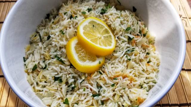 Greek Style Rice