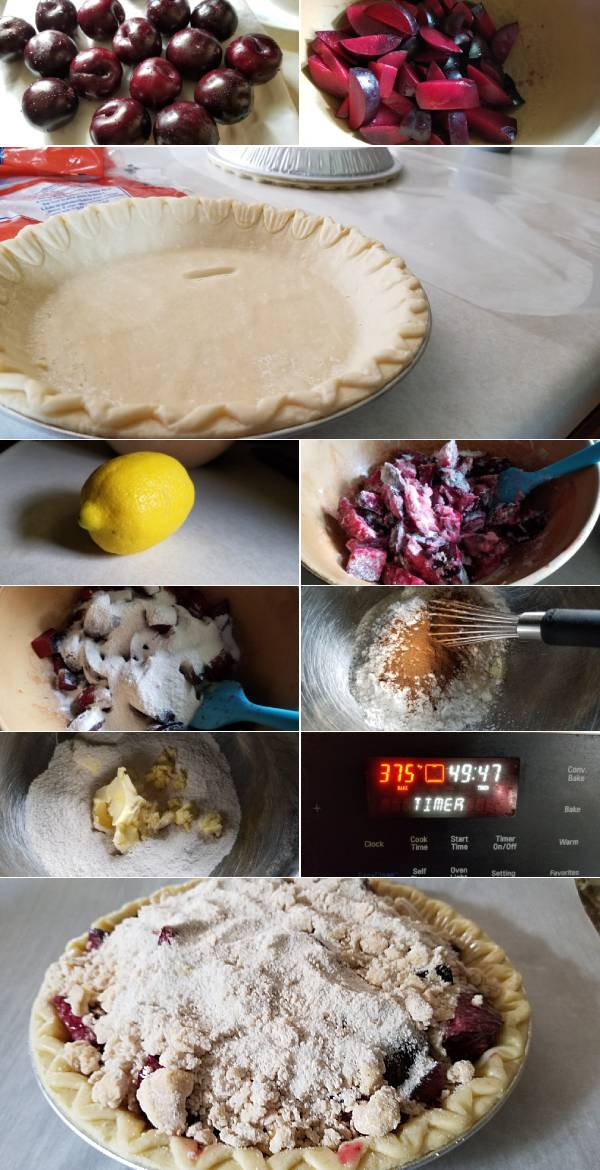 Plum Pie Recipe Ingredients