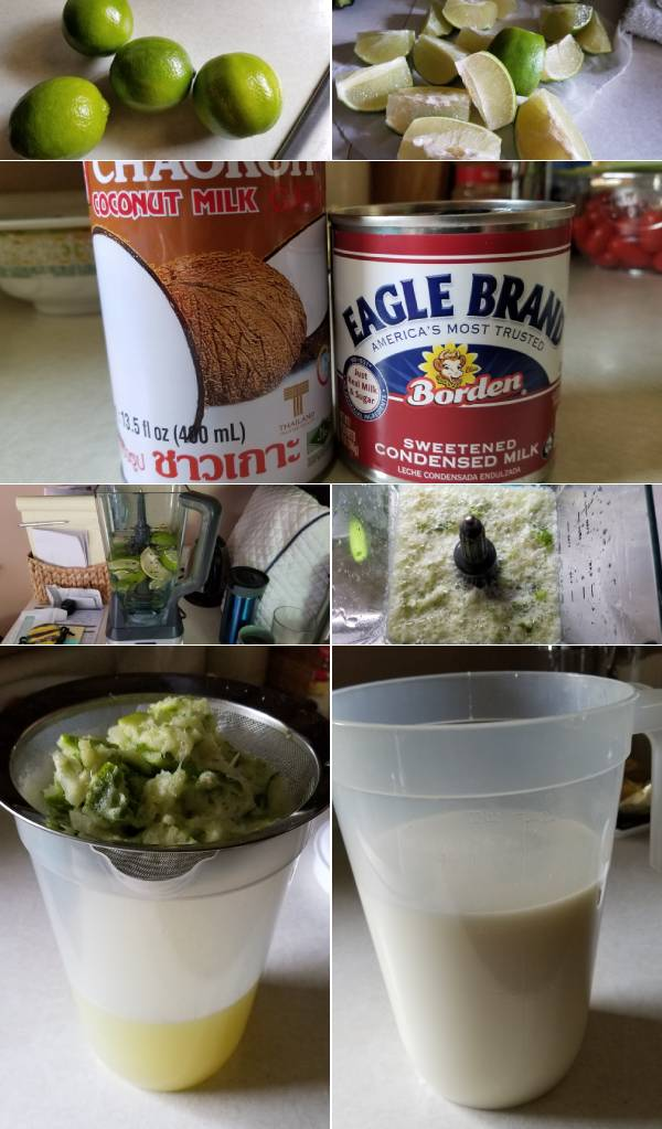 Coconut Limeade Recipe Ingredients