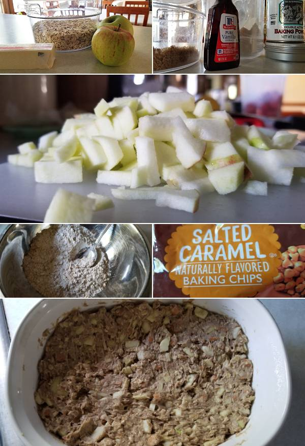 Caramel Apple Blondie Recipe