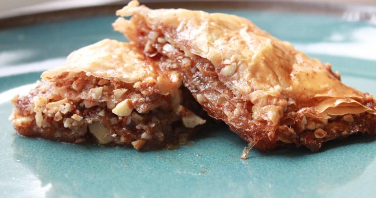 Apple and Cinnamon Baklava
