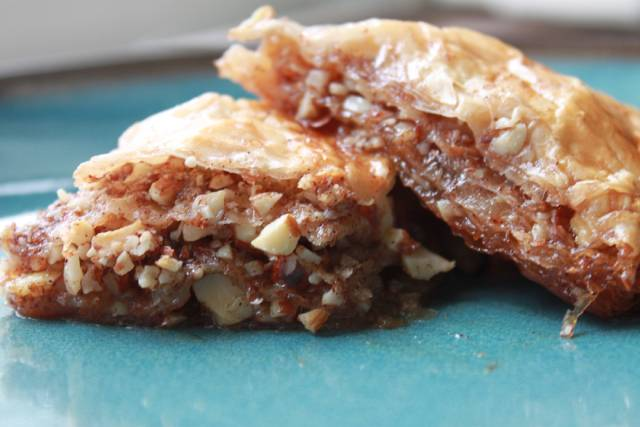 Apple and Cinnamon Baklava Recipe