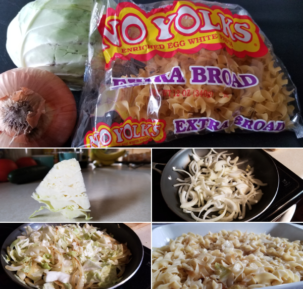 Fried Cabbage and Noodles Recipe